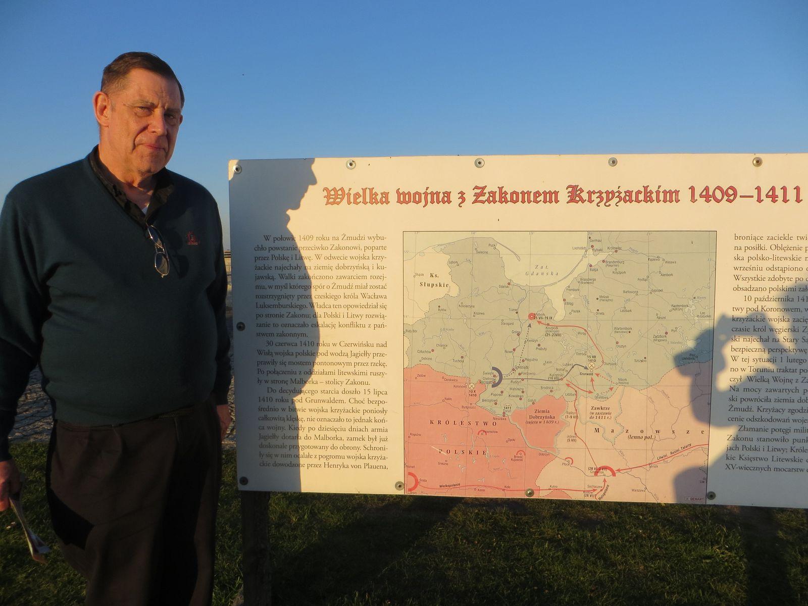 Spotkanie z native speakerem Fr. Johnem Williamsem w Gminie Gietrzwałd